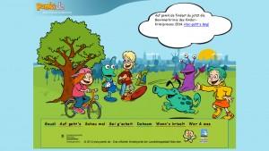 Ansicht der Webseite www.pomki.de