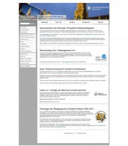 Abbildung der Webseite muc.kobis.de